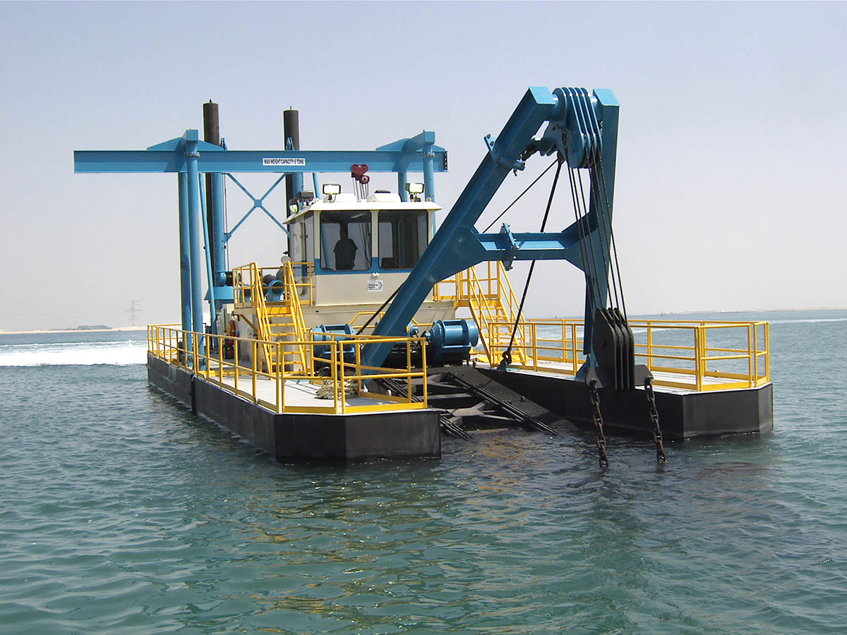 Portable Suction Dredge : Shark class dredge by dsc features modular design
