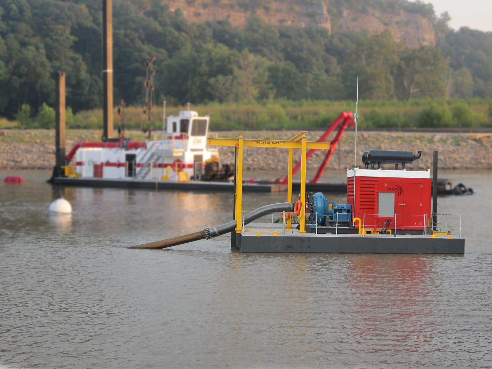 Dredge Efficiency Dropping? It Could Need A Boost   DSC Dredge